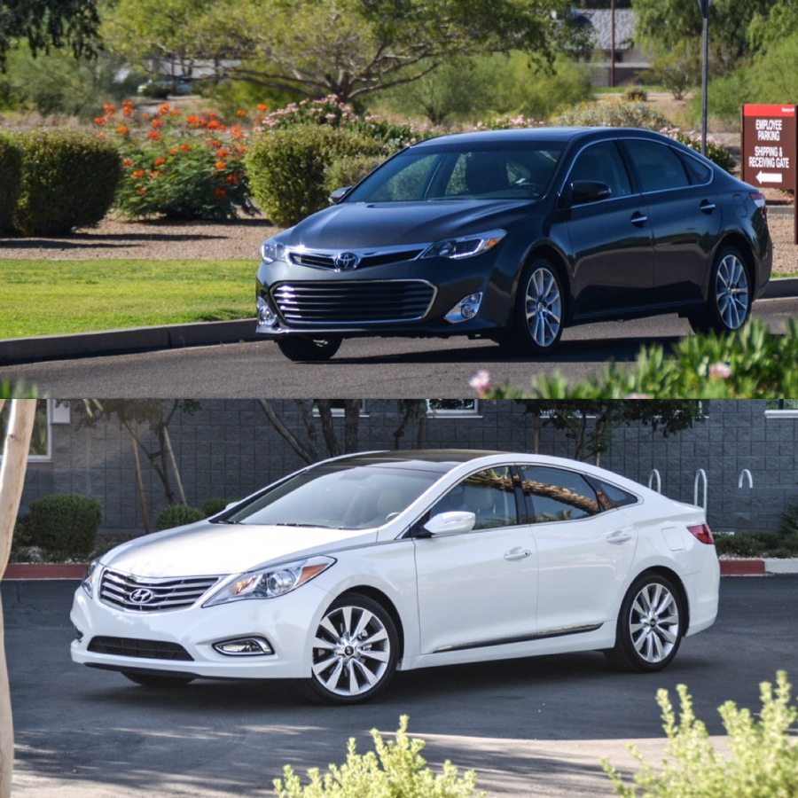 Comparison: Hyundai Azera Vs Toyota Avalon