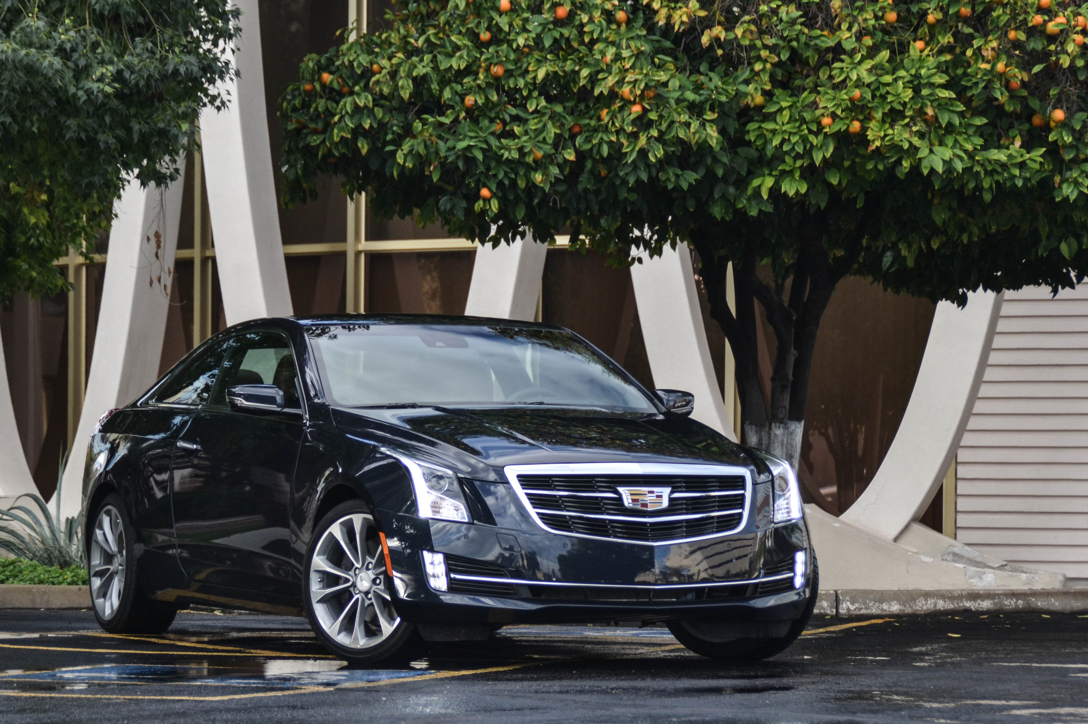 First Drive 2015 Cadillac Ats Coupe 2 0t Six Speed Blog