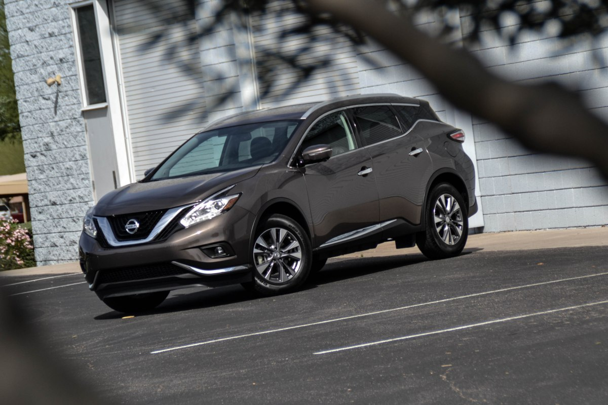 First Drive 2015 Nissan Murano Sl 171 Six Speed Blog