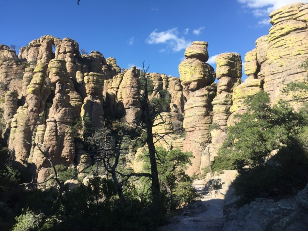 The Chiricahua National Monument