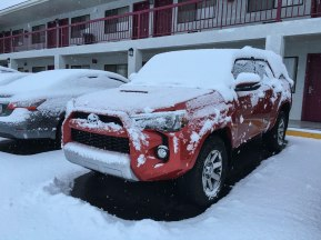 One snowy 4Runner