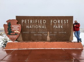 Petrified Forest Entrance