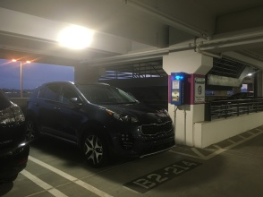 KIA SPORTAGE SAFELY PARKED IN ECONOMY