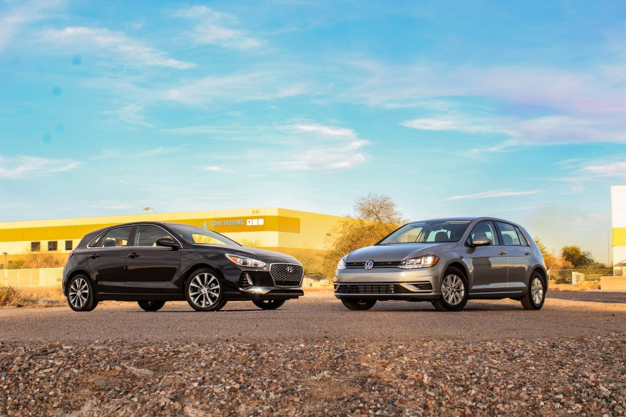 Hyundai and VW front