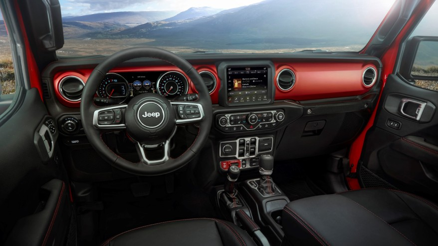 2020 Jeep® Gladiator – interior